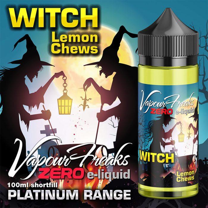 WITCH - Vapour Freaks ZERO e-liquid - 70% VG - 100ml