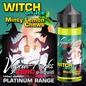 WITCH ON ICE - Vapour Freaks ZERO e-liquid - 70% VG - 100ml