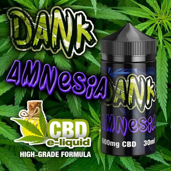 Amnesia - DANK CBD e-liquid