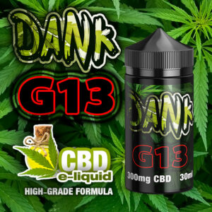 G13 - DANK CBD e-liquid - 30ml