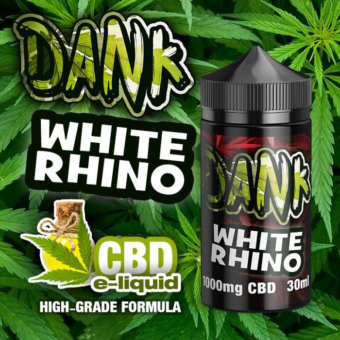 White Rhino - DANK CBD e-liquid - 30ml