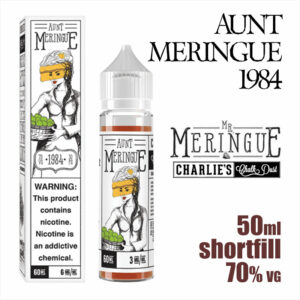 Aunt Meringue 1984 - Charlies Chalk Dust e-liquid - 50ml