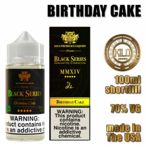 Birthday Cake - Kilo e-liquid - 70% VG - 100ml
