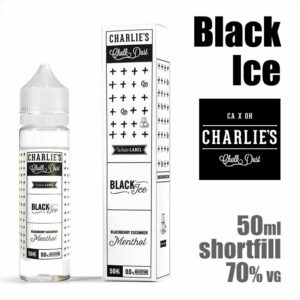 Black Ice - Charlies Chalk Dust e-liquids - 50ml