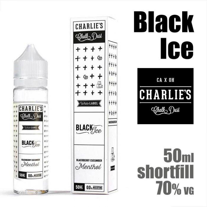 Black Ice - Charlies Chalk Dust e-liquids - 50ml