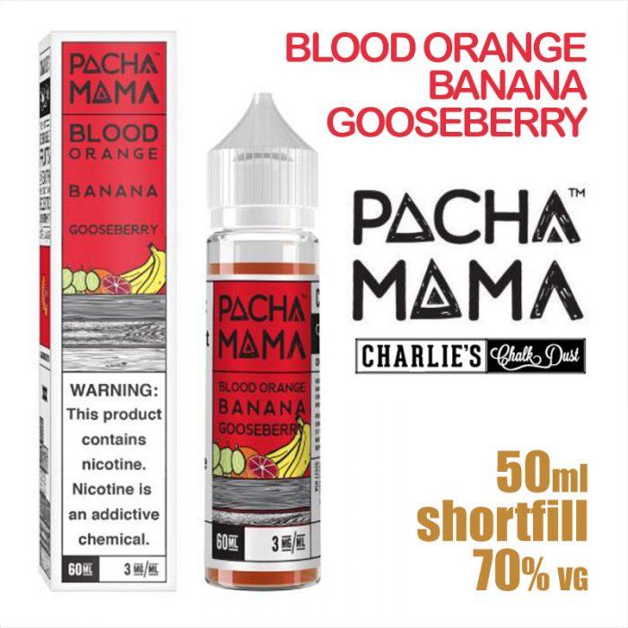 Blood Orange Banana Gooseberry - PACHA MAMA eliquids - 50ml