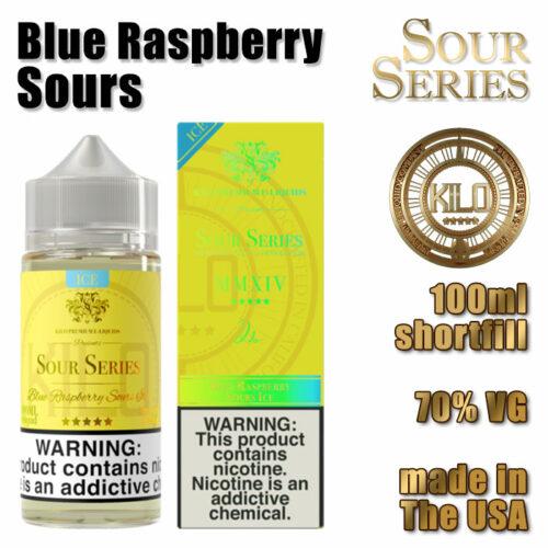 Blue Raspberry Sours - Kilo e-liquid - 70% VG - 100ml