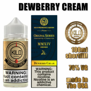 Dewberry Cream - Kilo e-liquid - 70% VG - 100ml