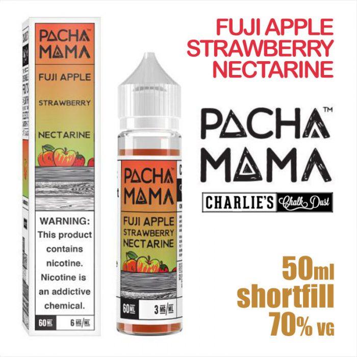 Fuji Apple Strawberry Nectarine - PACHA MAMA eliquids - 50ml