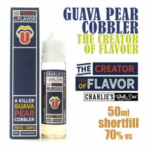 Guava Pear Cobbler - The Creator of Flavour e-liquid - 50ml