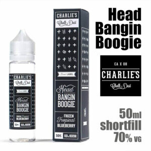 Head Bangin Boogie - Charlies Chalk Dust e-liquids - 50ml