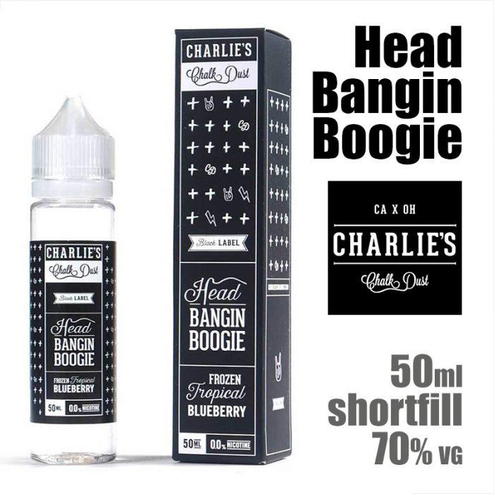 Head Bangin Boogie - Charlies Chalk Dust e-liquids - 50ml