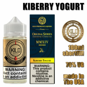 Kiberry Yogurt - Kilo e-liquid - 70% VG - 100ml