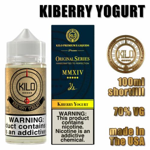Kiberry Yogurt - Kilo e-liquid - 70% VG - 100ml