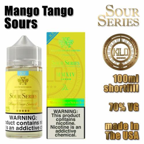 Mango Tango Sours - Kilo e-liquid - 70% VG - 100ml