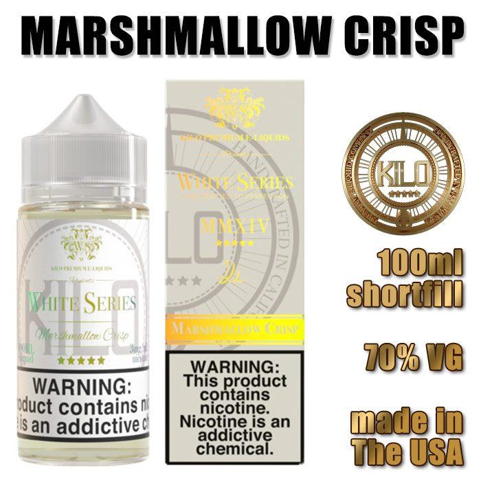 Marshmallow Crisp - Kilo e-liquid - 70% VG - 100ml