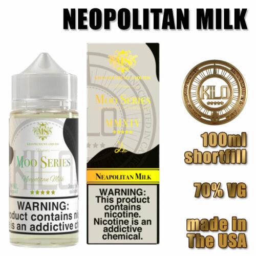 Neopolitan Milk - Kilo e-liquid - 70% VG - 100ml