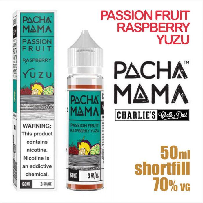 Passion Fruit Raspberry Yuzu - PACHA MAMA eliquids - 50ml