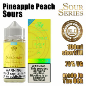 Pineapple Peach Sours - Kilo e-liquid - 70% VG - 100ml