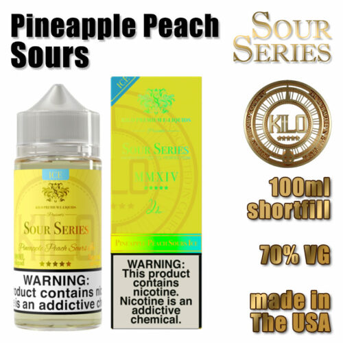 Pineapple Peach Sours - Kilo e-liquid - 70% VG - 100ml