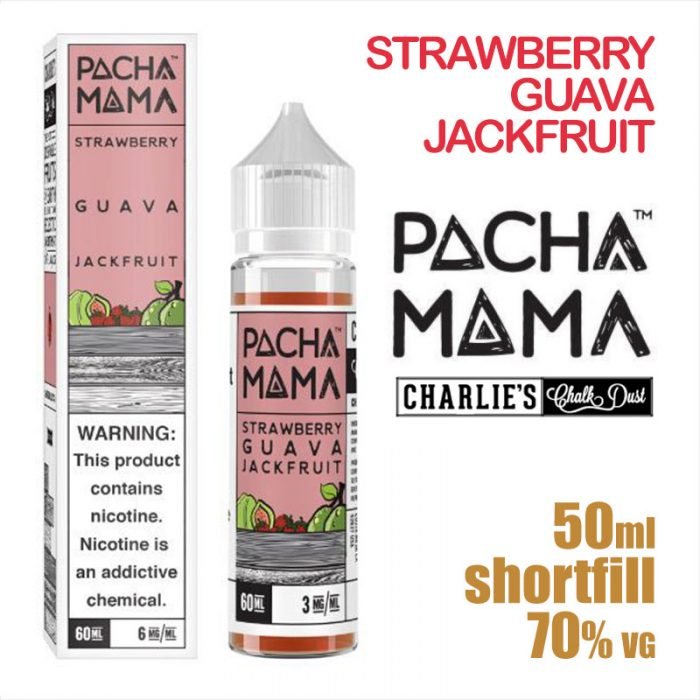 Strawberry Guava Jackfruit - PACHA MAMA eliquids - 50ml