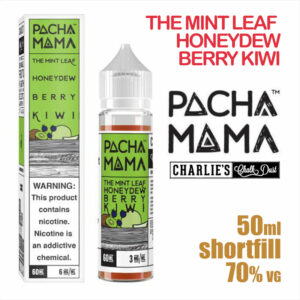 The Mint Leaf Honeydew Berry Kiwi - PACHA MAMA eliquids - 50ml