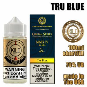 Tru Blue - Kilo e-liquid - 70% VG - 100ml