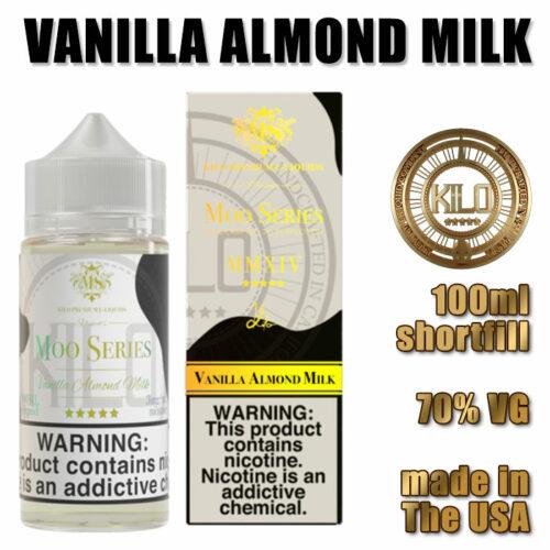 Vanilla Almond Milk - Kilo e-liquid - 70% VG - 100ml