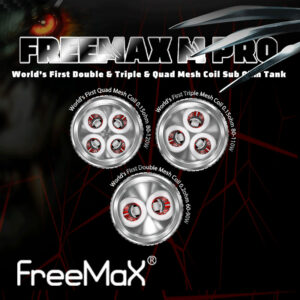 3 pack - FreeMax Mesh atomisers