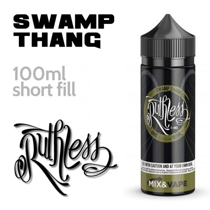 Swamp Thang - Ruthless Vapor - 60% VG - 100ml