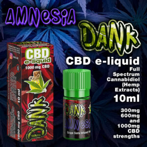 Amnesia - DANK CBD e-liquid - 10ml
