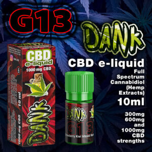 G13 - DANK CBD e-liquid - 10ml