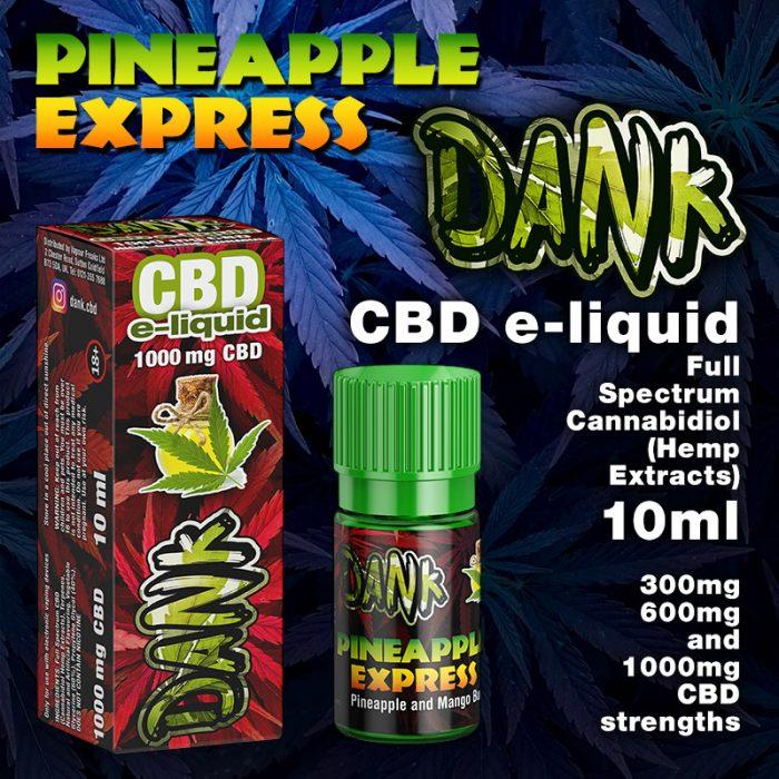 Pineapple Express - DANK CBD e-liquid - 10ml