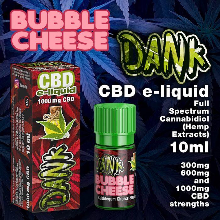 Bubble Cheese - DANK CBD e-liquid - 10ml