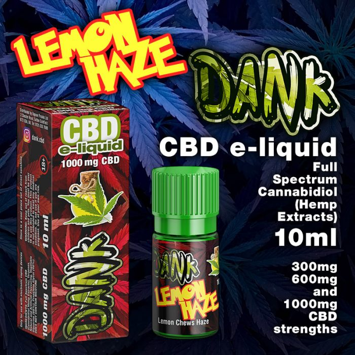 Lemon Haze - DANK CBD e-liquid - 10ml