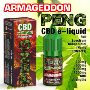Armageddon - PENG CBD e-liquid - 10ml and 30ml