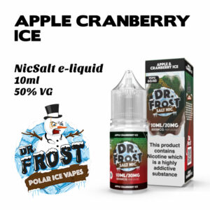 Apple Cranberry Ice - Dr Frost NicSalt e-liquid 10ml