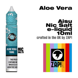 Aloe Vera - Aisu NicSalt e-liquids made by Zap! 10ml