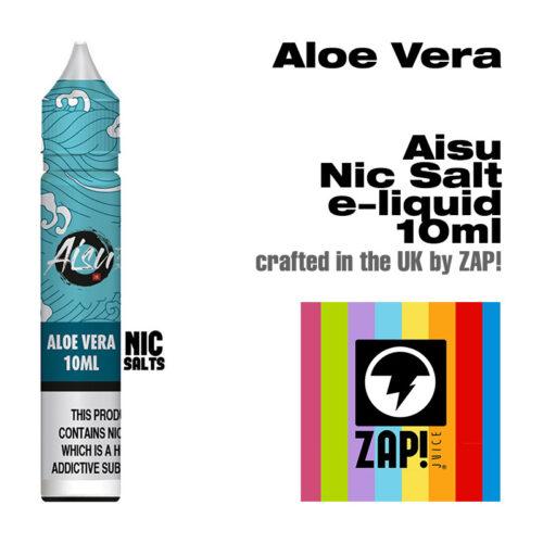 Aloe Vera - Aisu NicSalt e-liquids made by Zap! 10ml