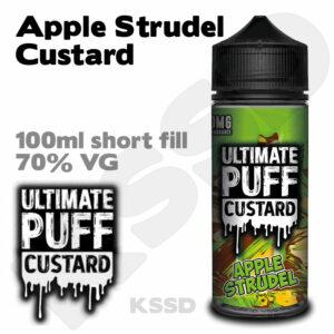 Apple Strudel Custard - Ultimate Puff eliquid - 100ml