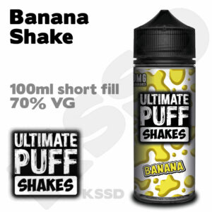 Banana Shake - Ultimate Puff eliquid - 100ml