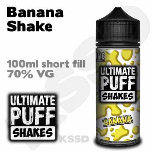 Banana Shake - Ultimate Puff eliquid - 100ml