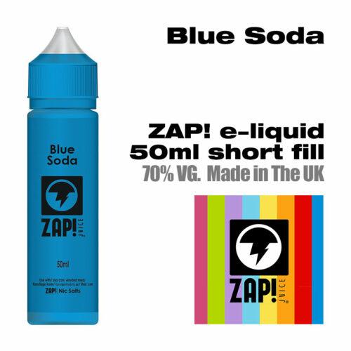 Blue Soda by Zap! e-liquid - 70% VG - 50ml