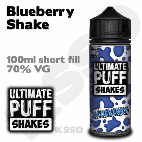 Blueberry Shake - Ultimate Puff eliquid - 100ml