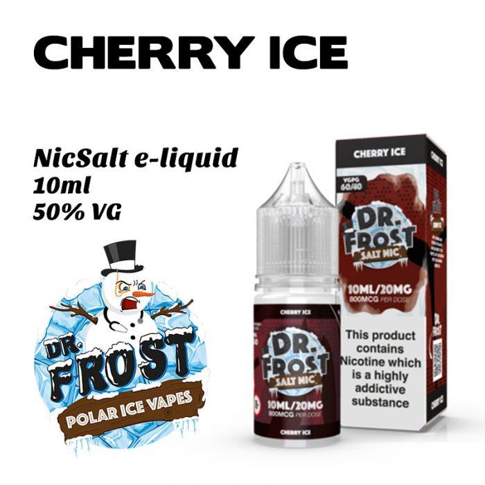 Cherry Ice - Dr Frost NicSalt e-liquid 10ml