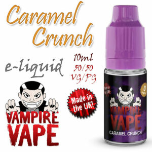 Caramel Crunch - Vampire Vape 40% VG e-Liquid - 10ml
