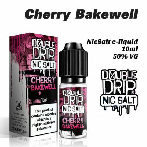 Cherry Bakewell - Double Drip NicSalt e-liquid 10ml