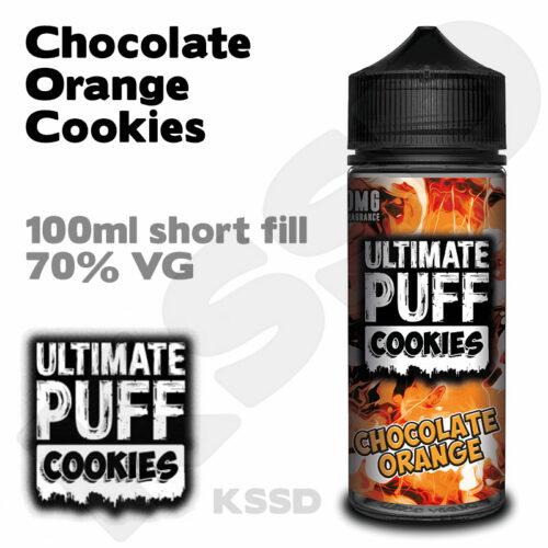 Chocolate Orange Cookies - Ultimate Puff eliquid - 100ml