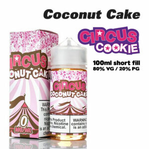 Circus Coconut Cake eliquid - 80% VG - 100ml