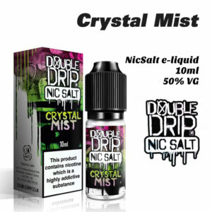 Crystal Mist - Double Drip NicSalt e-liquid 10ml